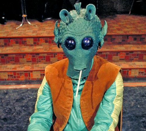 The Star Wars Holiday Special 1978 Cantina Alien Bludlow Behind the Scenes
