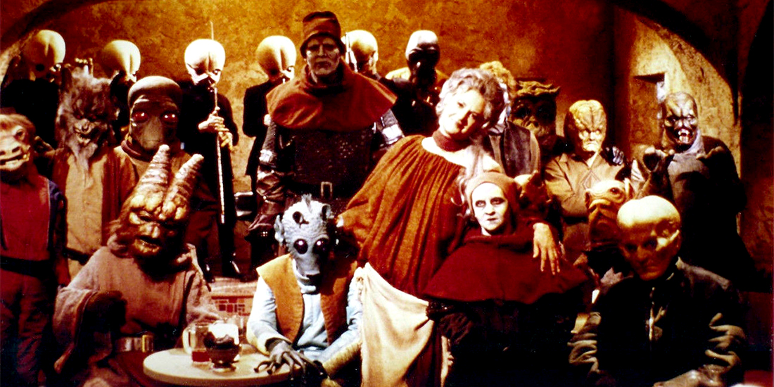 Star Wars Holiday Special Cantina Group Shot
