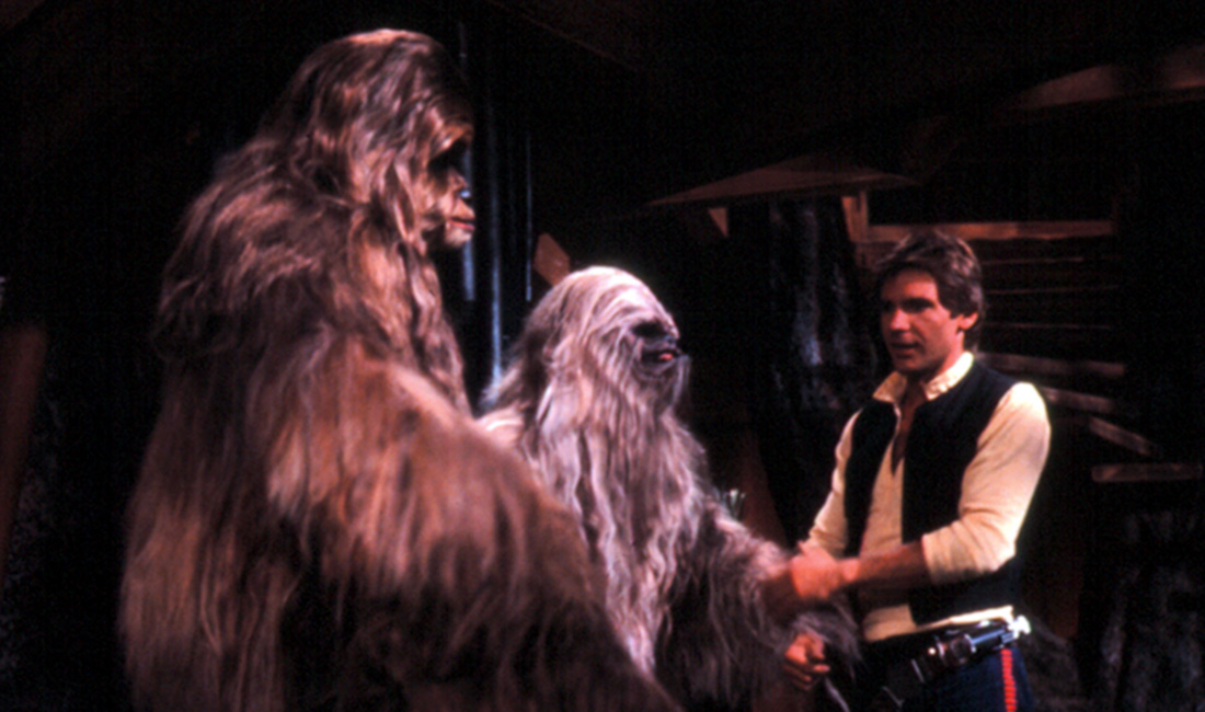 The Star Wars Holiday Special 1978 Han Solo & Wookie Family