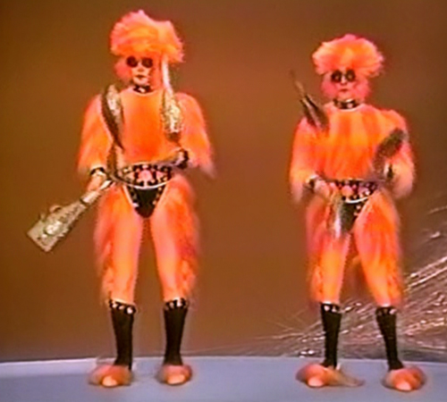 The Star Wars Holiday Special 1978 Holographic Jugglers / The Reeko Brothers