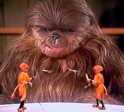 The Star Wars Holiday Special 1978 Lumpy with Holographic Jugglers / The Reeko Brothers
