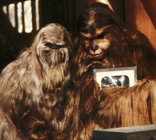 The Star Wars Holiday Special 1978 Wookie Itchy and Malla