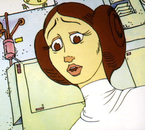 The Star Wars Holiday Special 1978 Cartoon Princess Leia