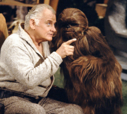 The Star Wars Holiday Special 1978 Saun Dann with Lumpy