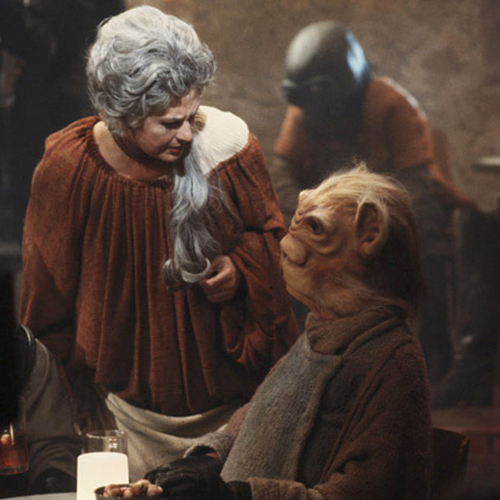 The Star Wars Holiday Special 1978 Cantina Alien Solomahal with Ackmena