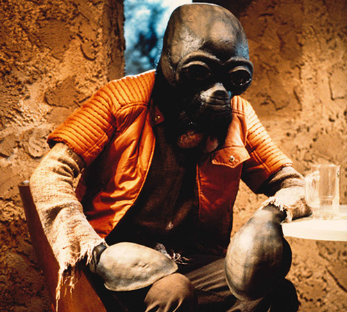 The Star Wars Holiday Special 1978 Cantina Alien Teak Sidbam