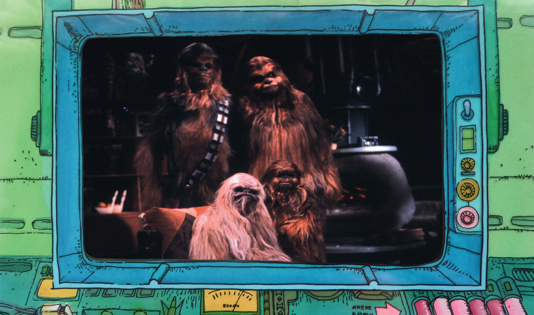 The Star Wars Holiday Special 1978 Wookie Family